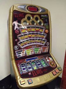Elvis 5 Liner -  £70 Low Tech Fruit Machine
